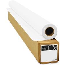"dtec Inkjet Copy & Multipurpose Paper - White - 36"" x 150 ft - 26 lb Basis Weight - Matte - 1 / Roll"