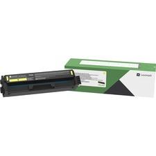 Lexmark Original Toner Cartridge - Yellow - Laser - 1500 Pages