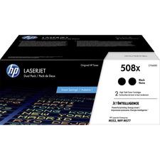HP 508X (CF360XD) Toner Cartridge - Black - Laser - High Yield - 12500 Pages - 2 / Each