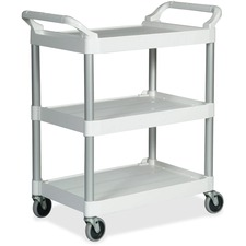 "RCP 342488OWH Rubbermaid Comm. 4"" Caster Utility Cart RCP342488OWH"