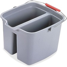 RCP 261700GY Rubbermaid Comm. Double Pail RCP261700GY
