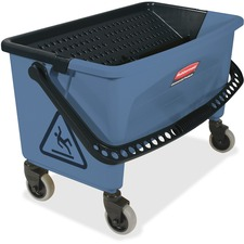 RCP Q93000BE Rubbermaid Comm. Finish Mop Bucket w/ Wringer RCPQ93000BE