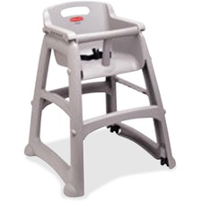 RCP 780608PLAT Rubbermaid Comm. Sturdy Chair Youth High Chair RCP780608PLAT