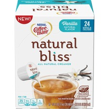 NES 41941CT Nestle Coffee-mate Natural Bliss Creamer Singles NES41941CT