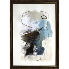 LLR 04472 Lorell In The Middle Framed Abstract Art LLR04472
