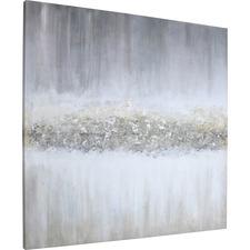 LLR 04480 Lorell Raining Sky Design Framed Abstract Art LLR04480