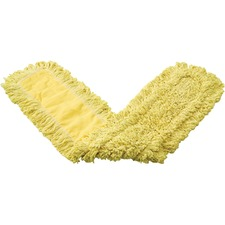 RCP J15500YEL Rubbermaid Comm. Trapper Blend Dust Mop RCPJ15500YEL