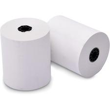 "ICONEX Receipt Paper - 3 1/4"" x 243 ft - 4 / Pack - White"