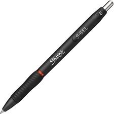 Sharpie S-Gel Pens - 1 mm Pen Point Size - Retractable - Red Gel-based Ink