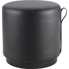 LLR 86936 Lorell Contemporary Coll. Round Foot Stool LLR86936