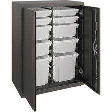 "HON SC183930LGS HON Flagship 39"" Modular Storage Cabinet HONSC183930LGS"