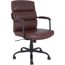 LLR 68572 Lorell SOHO Collection High-back Leather Chair LLR68572