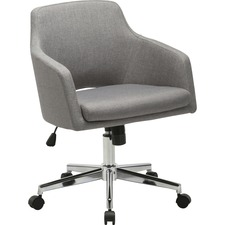 LLR 68570 Lorell Mid-century Modern Low-back Task Chair LLR68570
