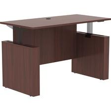 "LLR 69571 Lorell Essentials 60"" Sit-to-Stand Desk Shell LLR69571"