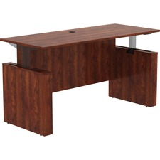 "LLR 69573 Lorell Essentials 72"" Sit-to-Stand Desk Shell LLR69573"