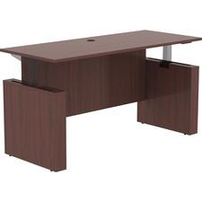 "LLR 69574 Lorell Essentials 72"" Sit-to-Stand Desk Shell LLR69574"