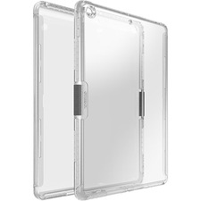 OtterBox iPad (7th gen) Symmetry Series Clear Case - For Apple iPad (7th Generation) Tablet - Micro Texture - Clear - Drop Resistant, Scratch Resistant, Scuff Resistant - Polycarbonate, Nylon, Rubber - 1