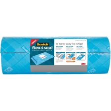 """Scotch Flex & Seal Shipping Roll, FS-1520-EF, 15 in x 20 ft (381 mm x 6.09 m) - 15"""" (381 mm) Width x 20 ft (6096 mm) Length - Water Resistant, Tear Resistant, Cushioned, Self-sealing, Recyclable, Adhesive"""