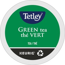 Tetley® Tea K-Cup - Compatible with Keurig K-Cup Brewer - Green Tea - 24 / Box