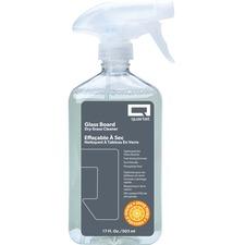 Quartet Glass Board Dry Erase Cleaner Spray - Spray - 17 fl oz (0.5 quart) - Orange Scent - 1 Each - Clear