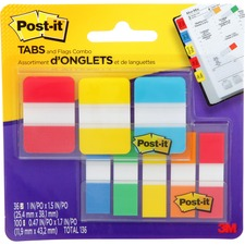"""Post-it® Flag - 36, 100 - 1"""" , 0.47"""" - Sticky, Removable, Adhesive - 1 / Pack"""