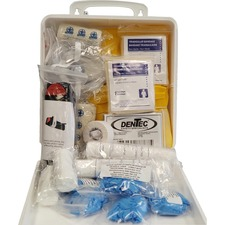 """Impact Products First Aid Kit - 10.20"""" (259.08 mm) Height x 14.80"""" (375.92 mm) Width x 21.50"""" (546.10 mm) Length - Plastic Case"""