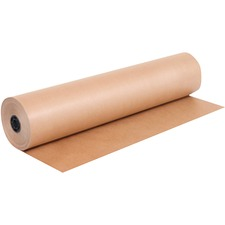 "Domtar Art Paper Roll - Packing, Shipping - 24"" (609.60 mm) x 900 ft (274320 mm) - 1 Roll - Kraft"