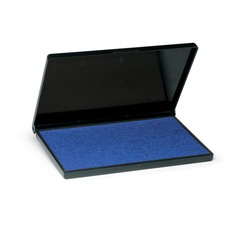 """Trodat Re-Inkable Stamp Pads - 1 Each - 2.76"""" (70 mm) Height x 4.33"""" (110 mm) Width - Blue Ink"""
