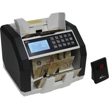 Royal Sovereign Professional Bill Counter - RBC-ED250-CA - 500 Bill Capacity - Counts 1500 (bills/min) - Sorts - (coins/min)Black