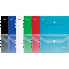 "Hilroy Five Star Notebook Envelope - Notebook - Letter - 11 1/2"" Width x 9 19/64"" Length - Snap - 1 Each - Assorted"