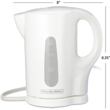 Proctor Silex Electric Kettle - 1 L - White