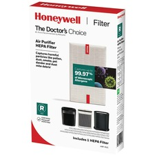"Honeywell True HEPA Replacement Filter - HEPA - For Humidifier, Air Purifier - Remove Dust - 99.97% Particle Removal Efficiency - 0.01 mil (0 mm) Particles - 10.30"" (261.62 mm) Height x 1.60"" (40.64 mm) Width x 6.70"" (170.18 mm) Depth"