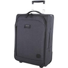 """Swissgear Getaway Carrying Case (Carry On) for 13"""" Notebook - Gray - Handle, Telescoping Handle - 21.50"""" (546.10 mm) Height x 14.40"""" (365.76 mm) Width x 10.20"""" (259.08 mm) Depth - 1 Pack"""