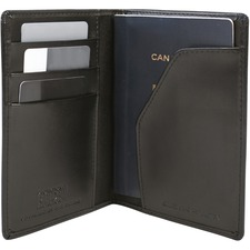 "Austin House Carrying Case (Sleeve) Passport - Black - 4.10"" (104.14 mm) Height x 5.50"" (139.70 mm) Width - 1 Pack"