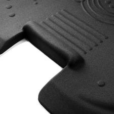 "AFS-TEX 5000X Anti-fatigue Mat - Stand-up Desk - 26"" (660.40 mm) Length x 36"" (914.40 mm) Width x 2"" (50.80 mm) Thickness - Rectangle - Black"
