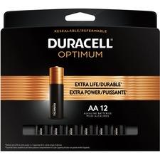Duracell Optimum Battery - For General Purpose - AA - 12 / Pack