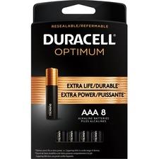 Duracell Optimum Battery - AAA - 8 / Pack