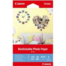"""Canon Photo Paper - 4"""" x 6"""" - 260 g/m² Grammage - Matte - 1 Each"""