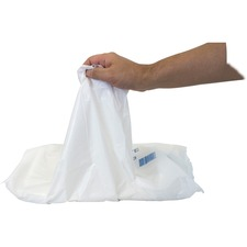 Safety Zone Apron - Virgin Polyethylene - For Food Service, Food Processing - White - 100 / Bag