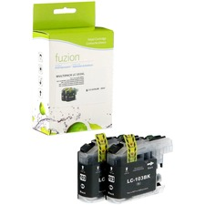 fuzion Ink Cartridge - Alternative for Brother LC1032 - Black - Inkjet - 600 Pages (Per Cartridge) - 1 Each