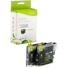 fuzion Ink Cartridge - Alternative for Brother LC61 - Black - Inkjet - 450 Pages (Per Cartridge) - 1 Each
