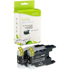 fuzion Ink Cartridge - Alternative for Brother LC75 - Black - Inkjet - High Yield - 600 Pages (Per Cartridge) - 1 Each