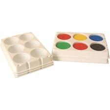 ColArt Funstuff Tempera Block Palette - Tempera - 1 Each - Polystyrene
