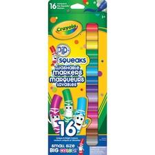 Crayola Pip-Squeaks Marker - 16 / Box