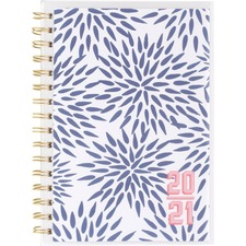 AAGKK104201A - At-A-Glance Katie Kime Blue Mums Academic Planner
