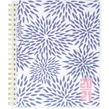 AAGKK104901A - At-A-Glance Katie Kime Blue Mums Academic Planner