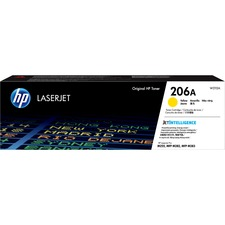 HP 206A Original Toner Cartridge - Yellow - Laser - 1250 Pages - 1 Each
