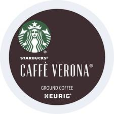 Starbucks Caffé Verona K-Cup - Caffe Verona, Dark Cocoa, Italian Roast, Roasty Sweet - Dark - 24 / Box