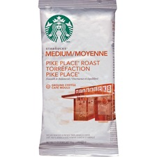 Starbucks Pike Place Ground Coffee - Pike Place, Cocoa, Nut - Bold - 2.5 oz