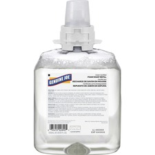 Genuine Joe Green Certified Soap Refill - Fragrance-free Scent - 1.25 L - Clear - Unscented - 1 Each